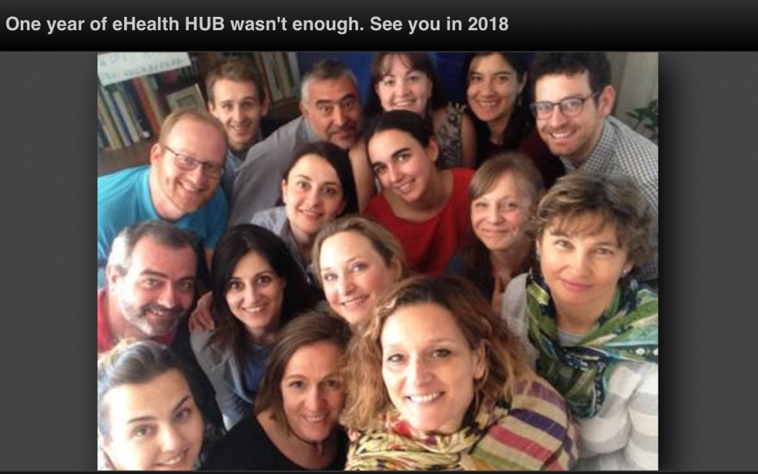 One year of eHealth HUB wasn't enough. See you in 2018