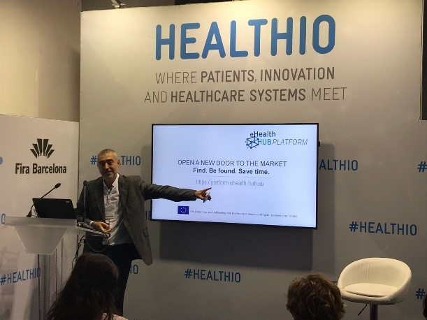 """How to make the most out of our eHealth HUB Platform""  Highlights from Jorge Gonzalez"